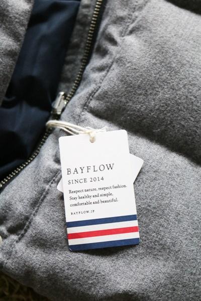 BAYFLOW ダウンベスト