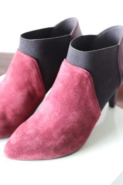 小さいサイズのブーツ 女性