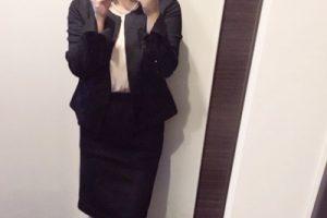 小柄ママ 卒園式スタイル