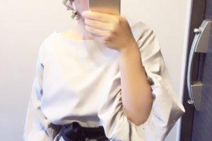 田中亜希子さん着用 サッシュベルト