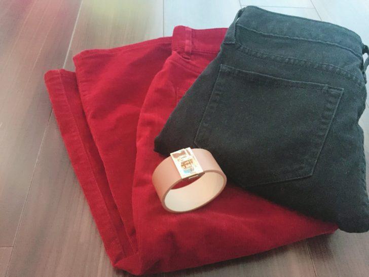 GUで秋物ボトムを購入したよ~!ボルドーのタイトスカートなどなど!