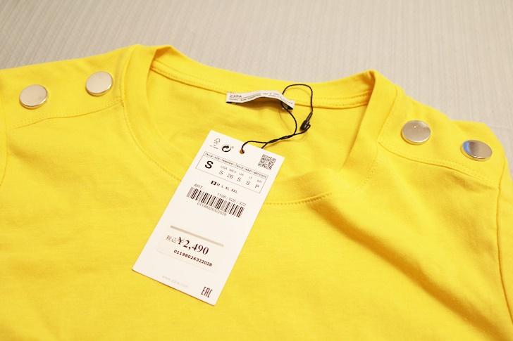 zaraTシャツ