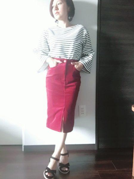 GUタイトスカート小柄おすすめ
