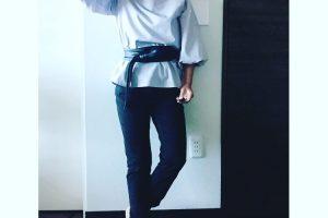 小柄コーディネート 秋服