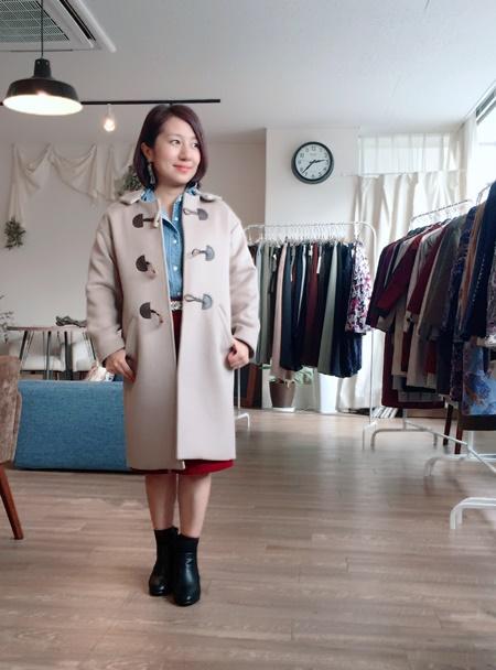 小さいサイズのコート