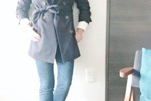 トレンチコート かっこよく着る方法