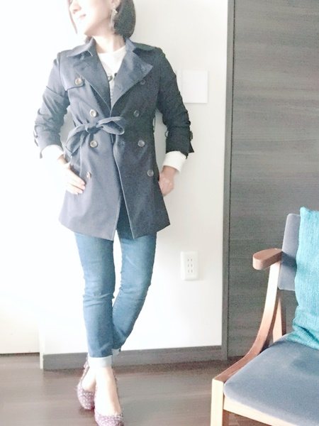 【3ステップでOK!】トレンチコートを大人女子がかっこよく着こなすポイント!