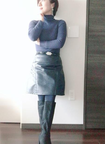 小柄女性 バランスよく着る