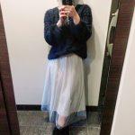 小柄でも穿けるロングスカート