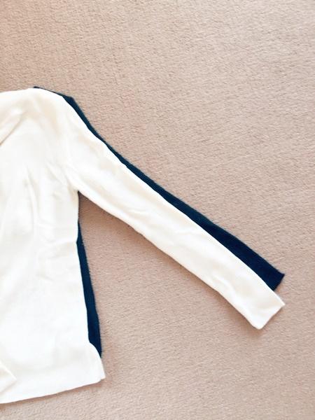 バニラタイニー サイズ比較 袖