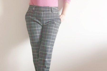 私服・仕事服どちらもOK!小さいサイズの安くてラクちんきれい目パンツ
