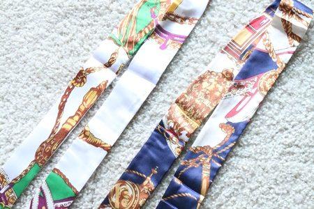 結びにくいスカーフを選んでない?誰でも簡単にできるパンツにスカーフを結ぶ方法!