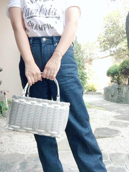 おばあちゃんのカゴバッグ