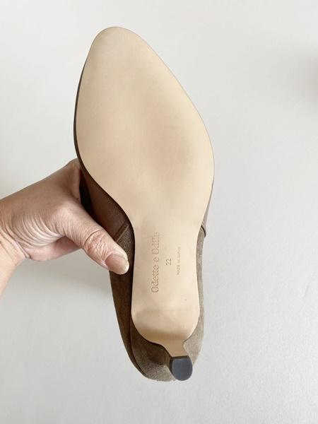 小さいサイズのブーツ