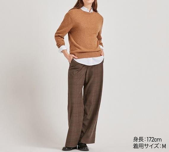 ユニクロ初売りカシミヤセーター