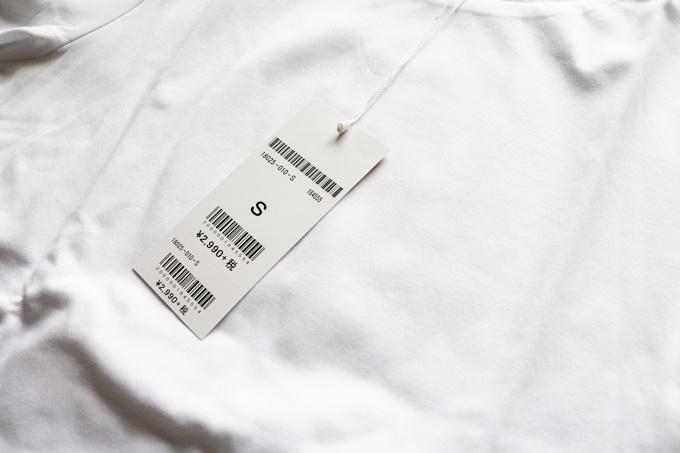 ドゥクラッセTシャツ・ボートネック5分袖 平置き