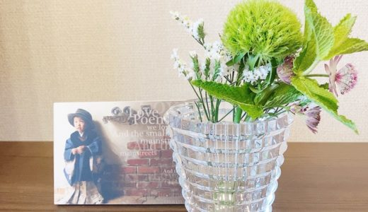 お花がポストに届く「ブルーミーライフ」を再開!まずはワンコイン500円のお花から飾ろう!