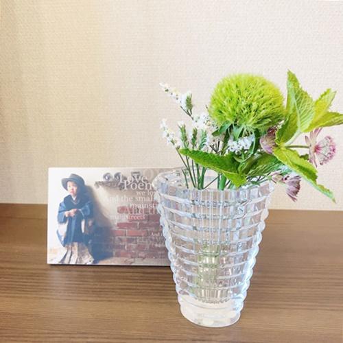お花を家に届けてくれる 日常