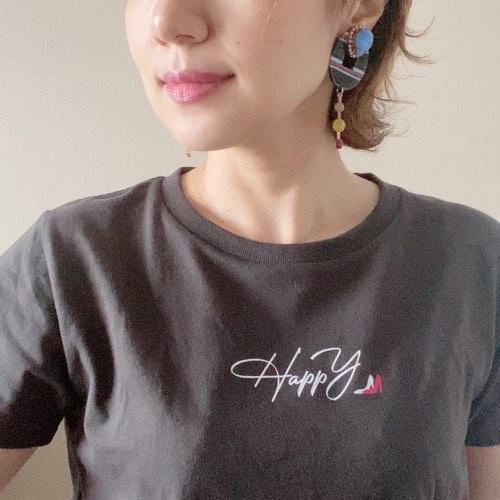 インスタグラマー HappY Tシャツ