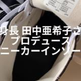 田中亜希子 インソール
