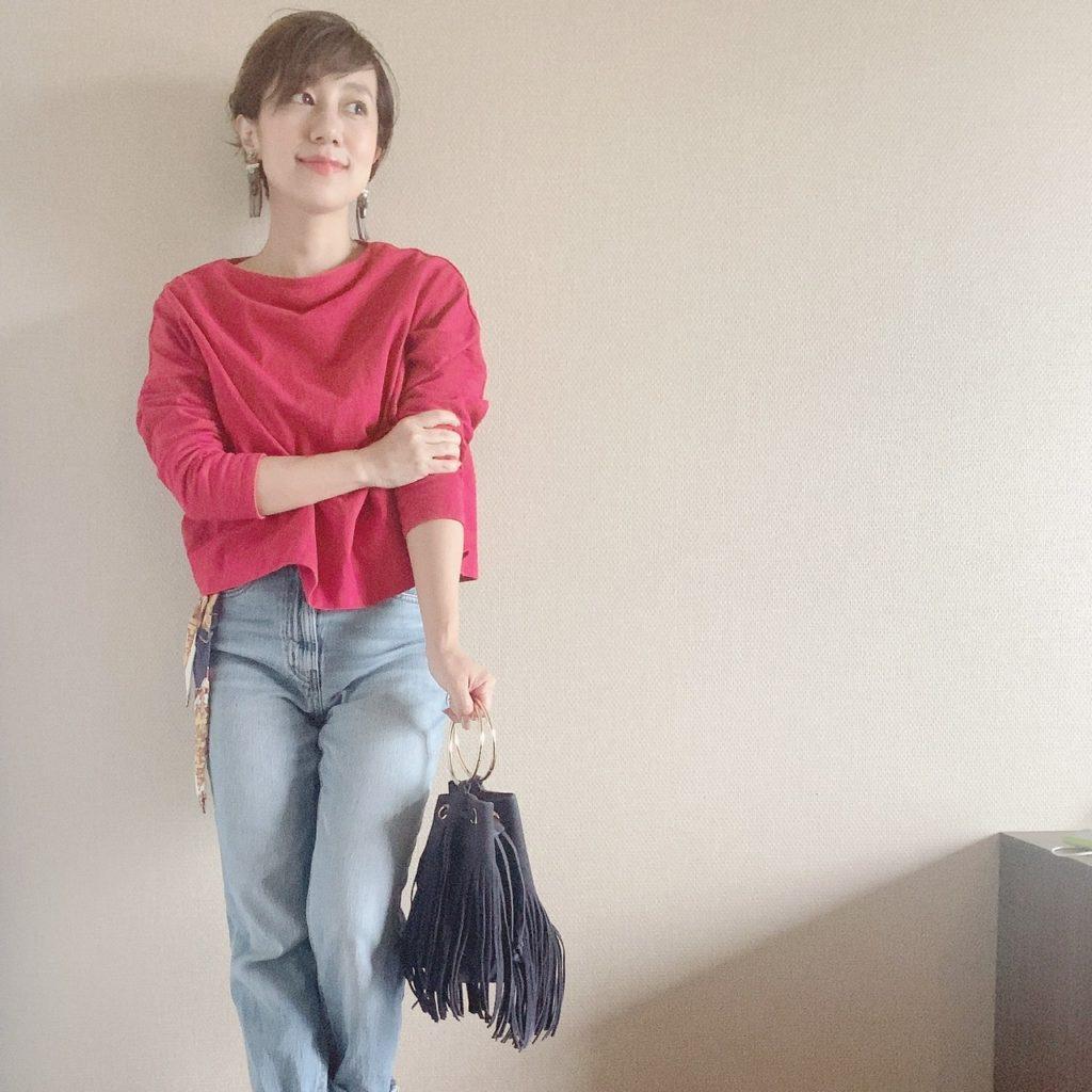 40代小柄ファッション