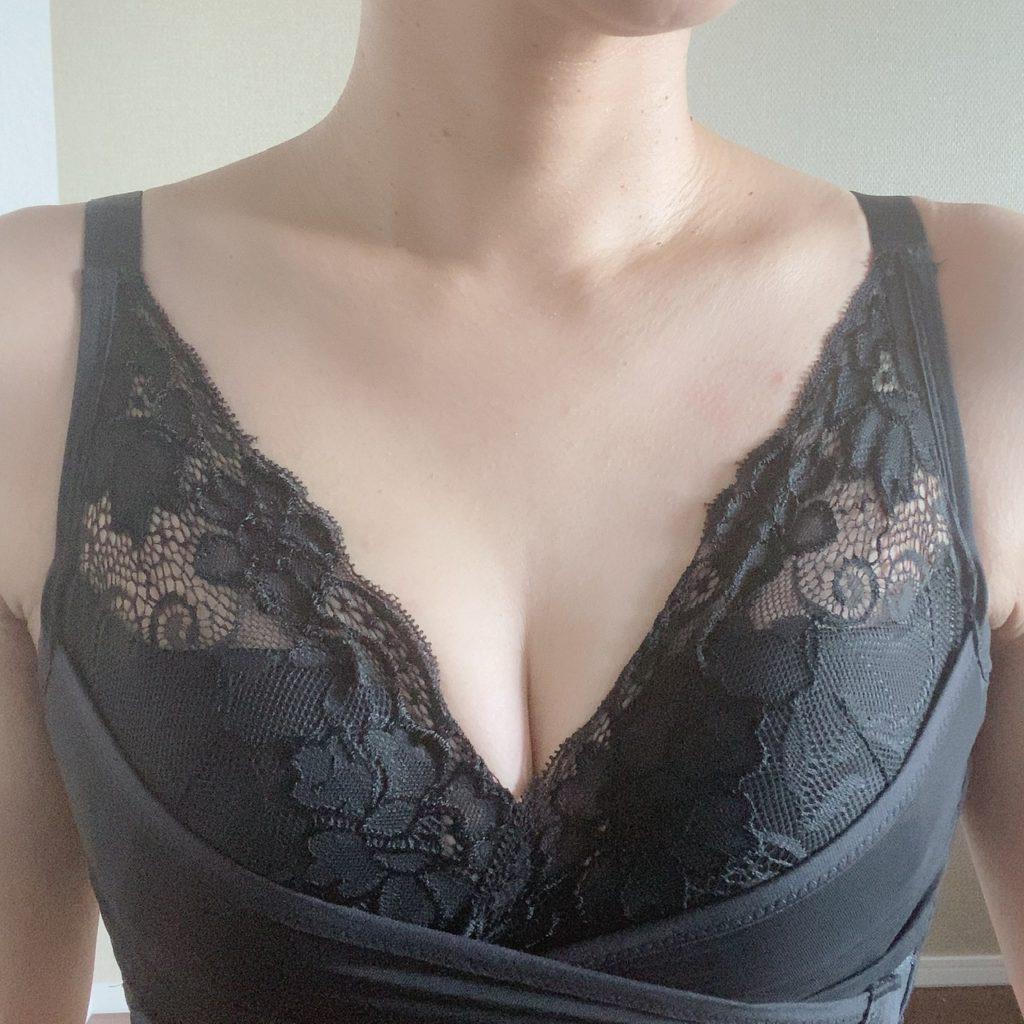 PG-bra(ピージーブラ)つけた写真