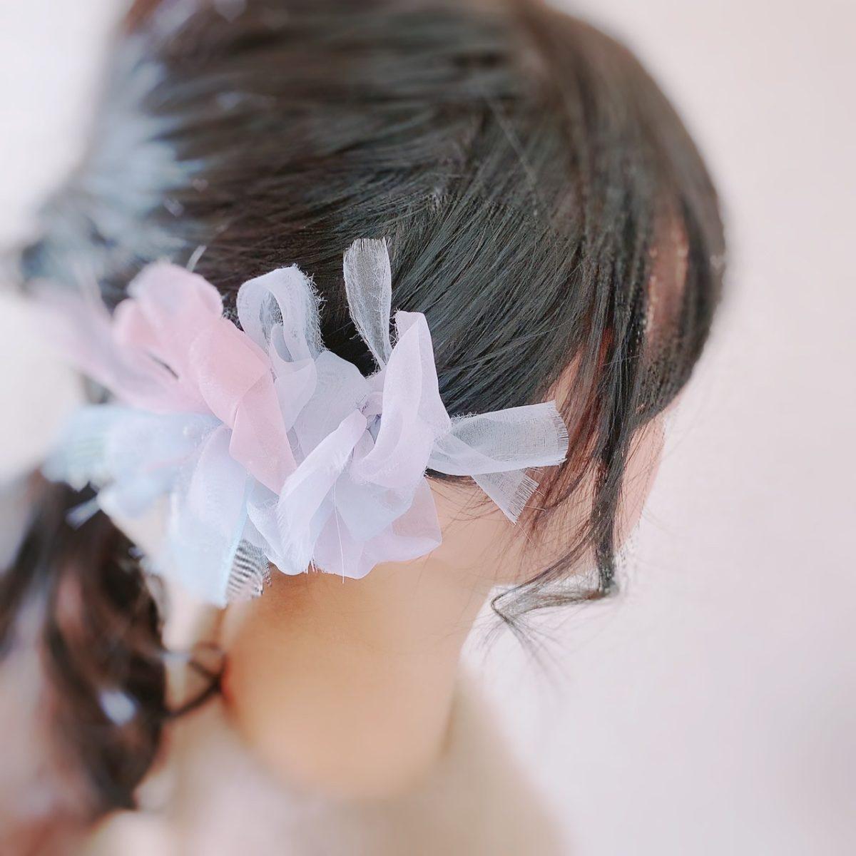 咲き編みアーティスト chiko(チコ)アジサイ