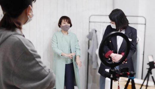阪神百貨店とインスタライブをしました!小柄におすすめの3アイテムを紹介しました!