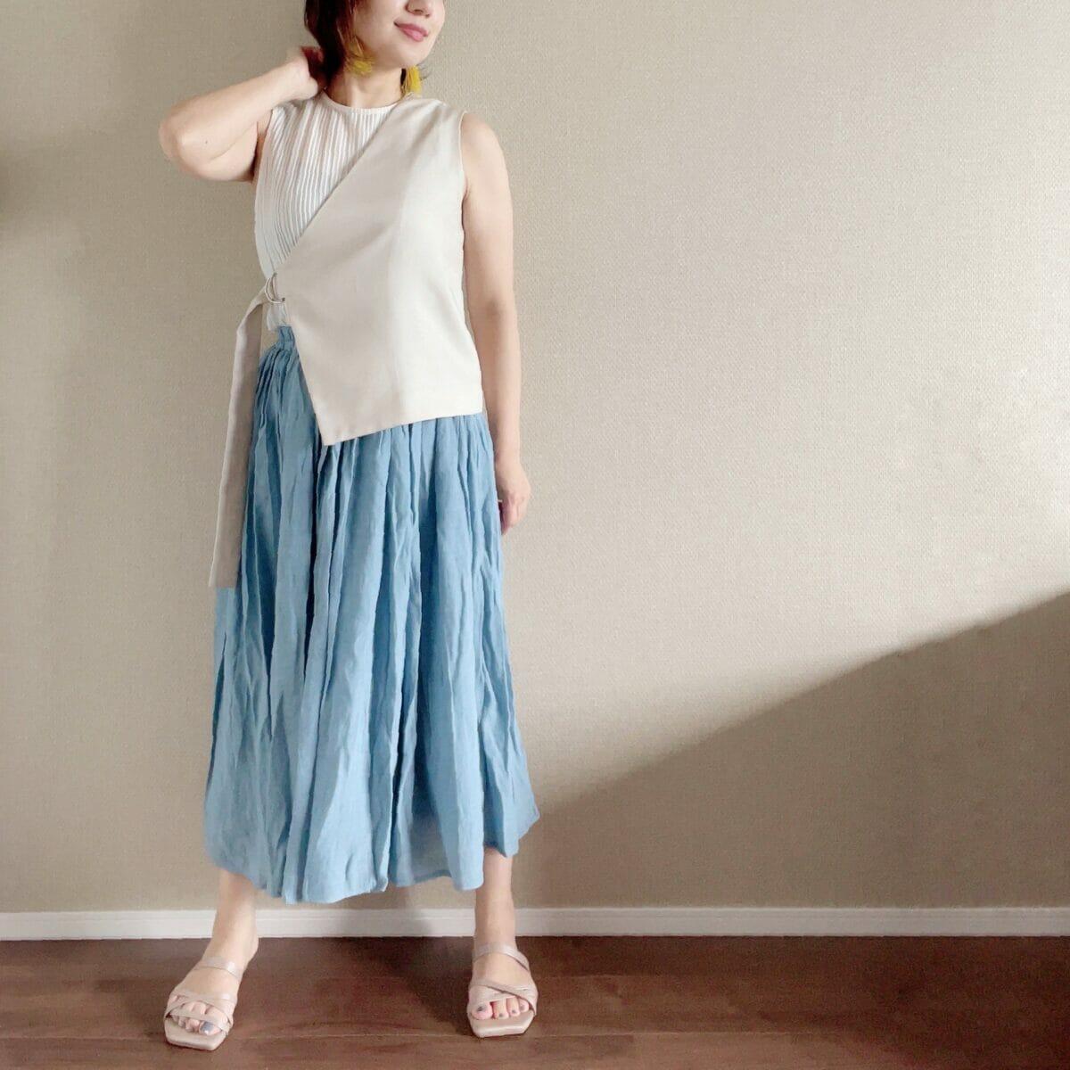 小柄におすすめなロングスカート